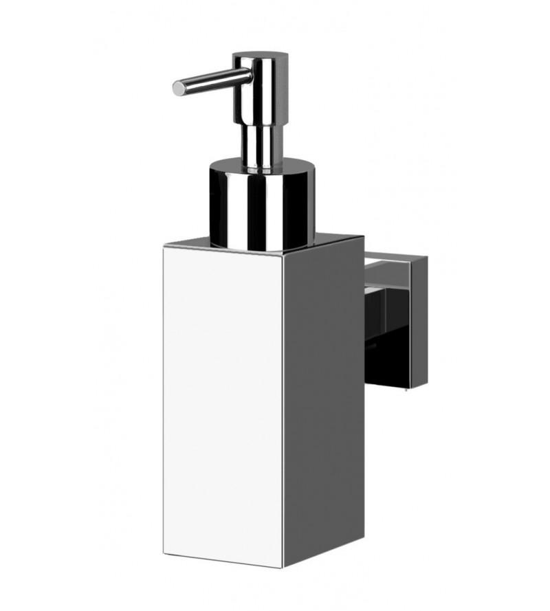 Dosatore Sapone Da Muro.Dispenser Sapone Liquido A Muro Pollini Acqua Design Cube P1024m