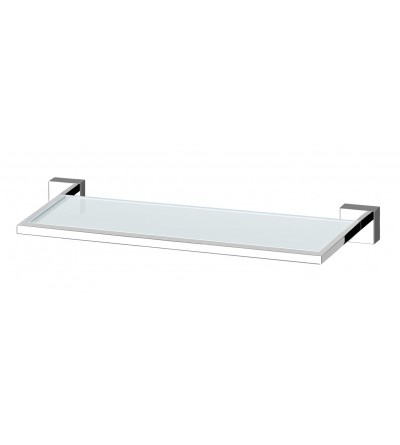 SHELF IN TRASPARENT GLASS POLLINI ACQUA DESIGN P1013