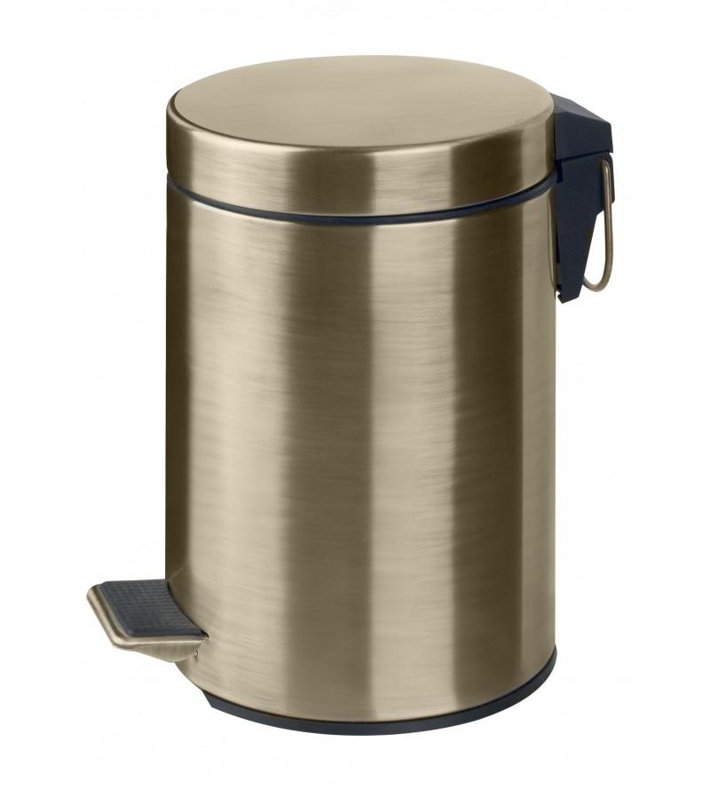 Pedal bin in steel Pollini...
