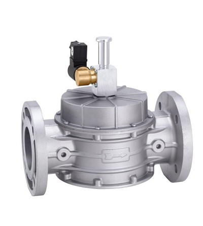Elettrovalvola gas, normalmente aperta con riarmo manuale caleffi 839