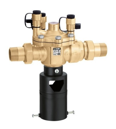 Controllable, reduced pressure zone backflow preventer caleffi 574