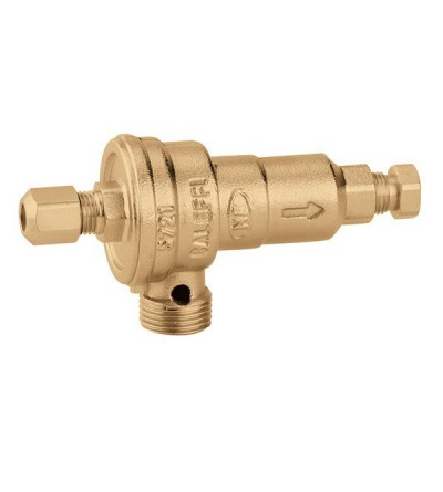Non controllable backflow preventer with different pressure caleffi 572106