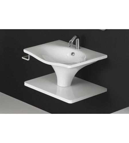 Miscelatore lavabo incasso a parete huber icon ic005510 - Miscelatore a parete bagno ...