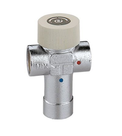 Adjustable thermostatic mixing valve CALEFFI 520