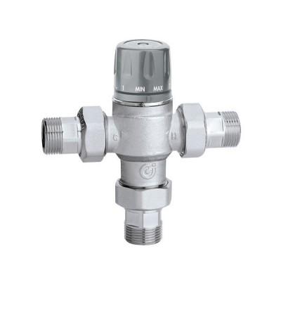 Mezclador termostático regulable con pomo CALEFFI 5218