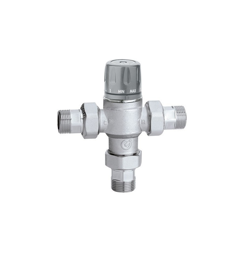 Tempering valve adjustable...