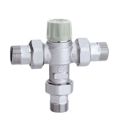 Thermostatic mixing valve caleffi 5217