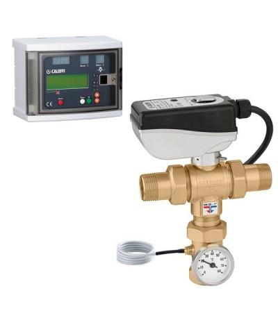 Electronic mixing valve LEGIOMIX®  caleffi 6000