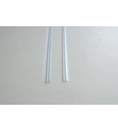Shower seals 6 mm sealing profile straight, vertical Samo RIC1127