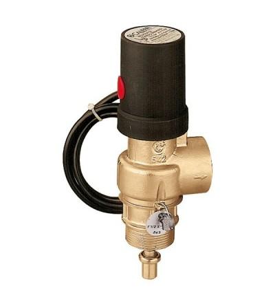 Válvula de descarga térmica de acción positiva CALEFFI 542
