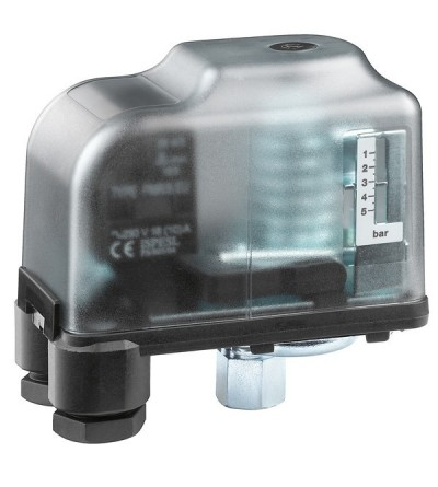 Safety pressure switch, with manual reset caleffi 625000