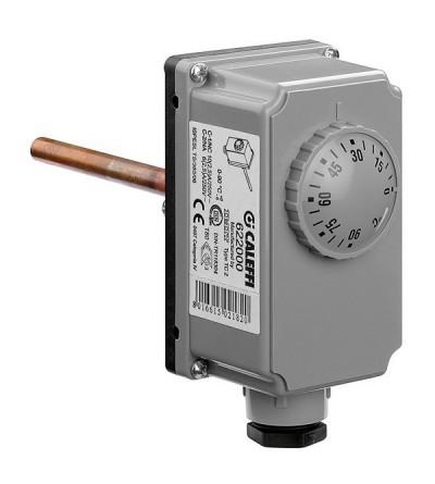 Thermostat à plongeur réglable caleffi 622000
