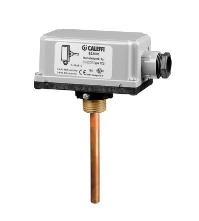 Thermostat de sécurité supplémentaires caleffi 622001