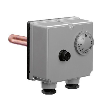 Double immersion thermostat caleffi 623