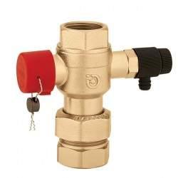 Ball valve for expansion...