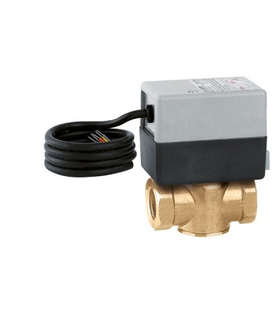 Two-way motorised zone valve caleffi Z-ONE™ 642