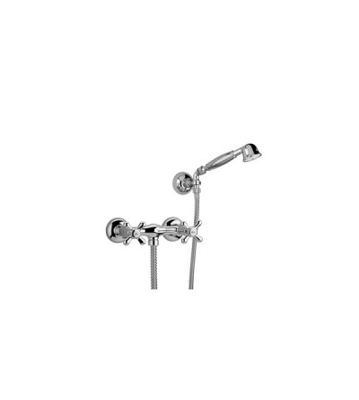 Exposed shower tap with shower set resp old america 019