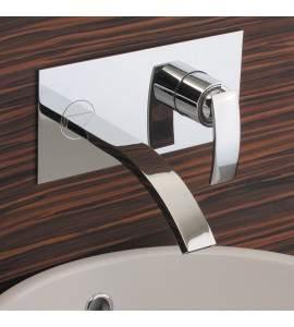 Rubinetto Miscelatore lavabo a parete Hego Iotondo IO497A11