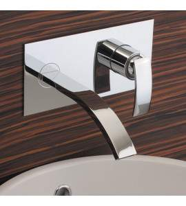Wall mounted wash basin mixer Hego Iotondo IO497A11