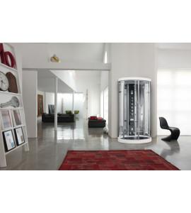 Cabina multifunzionale con sauna di vapore ARES 1 HAMMAM
