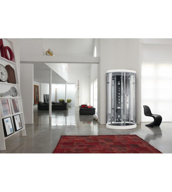 Sauna A Vapore.Cabina Multifunzionale Con Sauna Di Vapore Rubinetteria Shop
