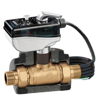 Motorised two-way ball zone valve CALEFFI 6452
