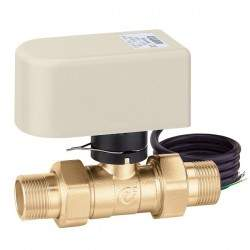 Two-way ball valve with...