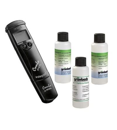 Kit di misurazione del pH e conducibilità elettrica CALEFFI 5750