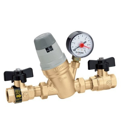 Pre-adjustable automatic filling unit with pressure caleffi 554040