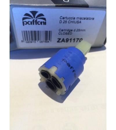 remplacement de la cartouche paffoni ZA91170