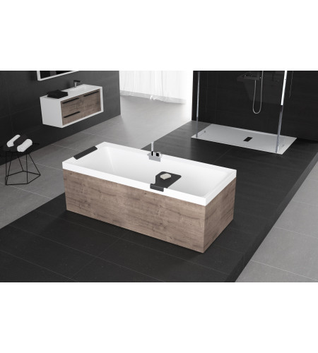 baignoire rectangulaire sans hydromassage avec. Black Bedroom Furniture Sets. Home Design Ideas