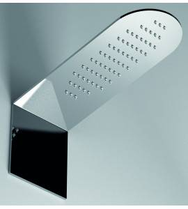 Shower head rectangular nuovaosmo street SSX166