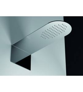 Shower head rectangular rounded nuovaosmo street SSX168