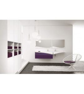 Mobile bagno 2 lavabi BMT FLY 14