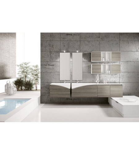Mobile bagno 2 lavabi BMT FLY 6