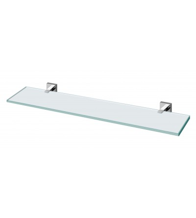 SHELF IN TRASPARENT GLASS POLLINI ACQUA DESIGN LIVE1213