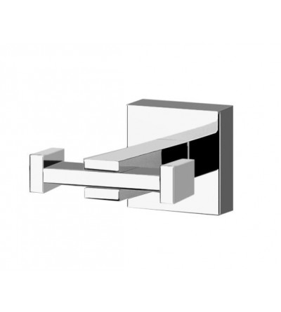 DOUBLE ROBE HOOK POLLINI ACQUA DESIGN LIVE LV12071