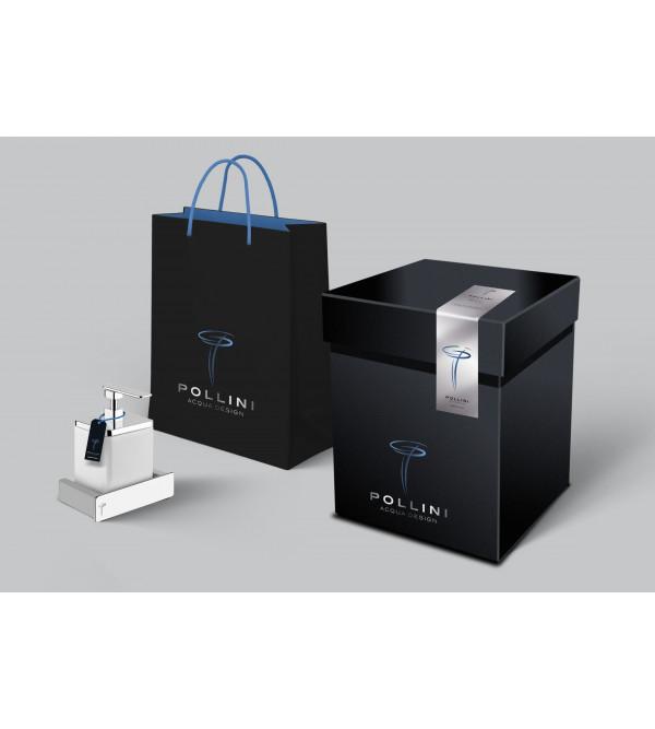 Waschbecken Handtuchhalter 50 cm Pollini Acqua Design Ebox
