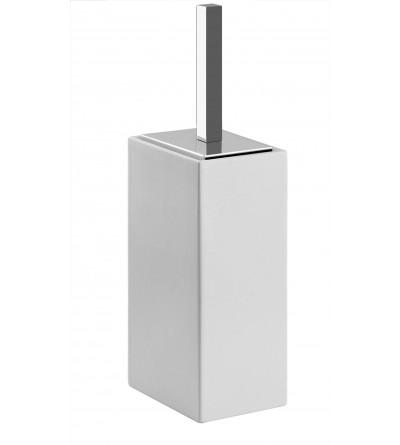 Porte balai soutien  en cèramique blanche pollini acqua design ebox 1402A9