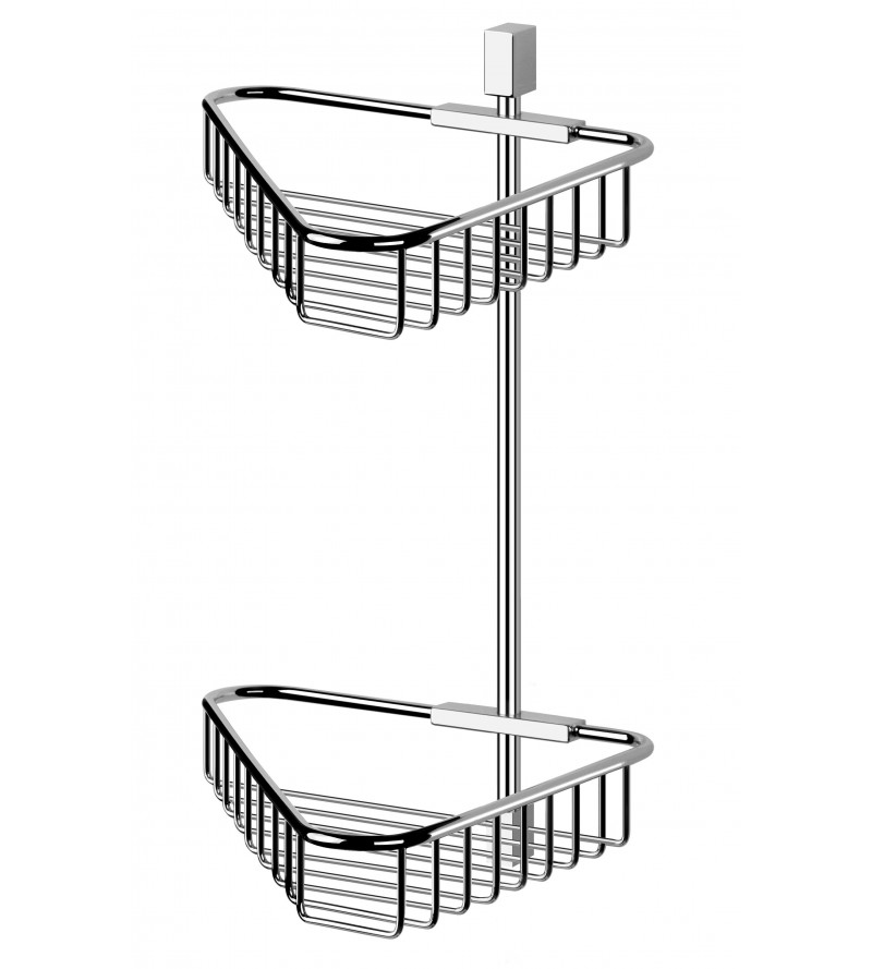 Double angle shower caddy...
