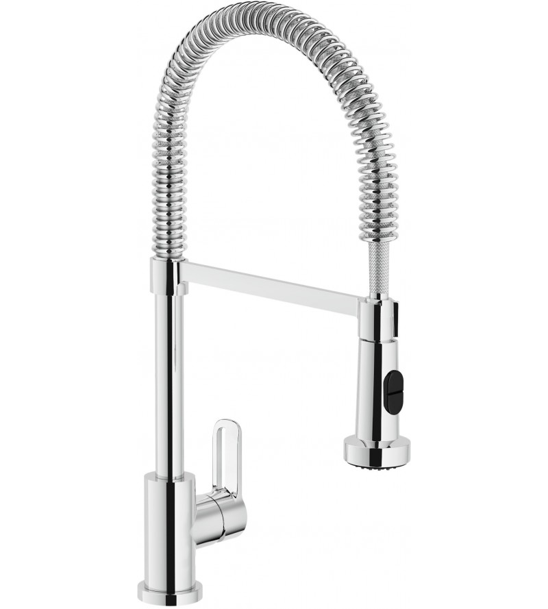 Kitchen mixer with two-jet...