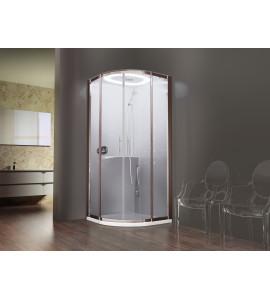 Cabinas de ducha mampara semicircular Novellini Eon R90