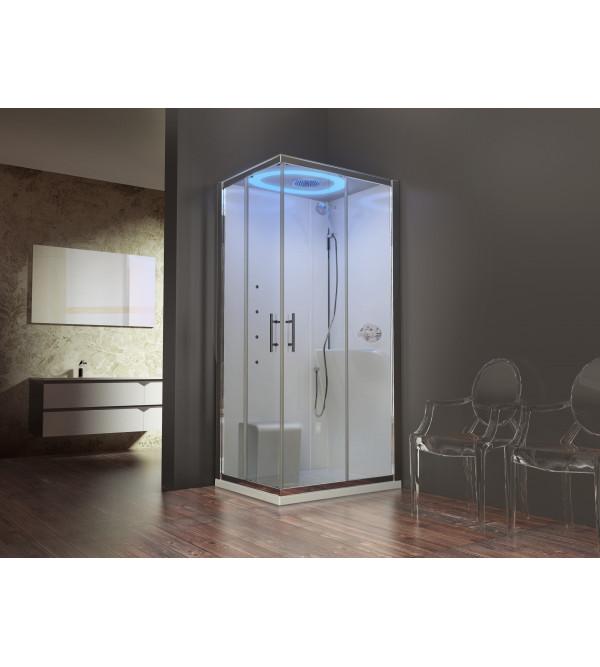Cabina doccia multifunzione novellini eon a100x80 rubinetteria shop - Cabine doccia novellini ...