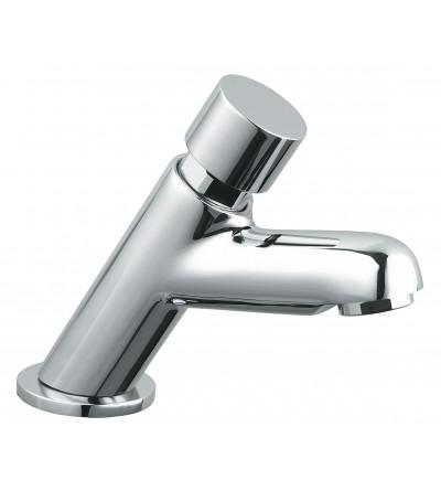 Rubinetto per lavabo con comando a pulsante antibloccaggio Idral 08510