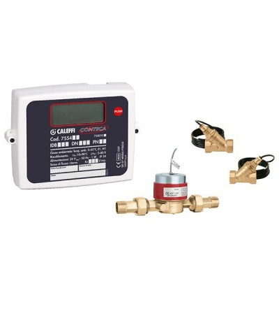 Direct heat meter CONTECA® CALEFFI 755404