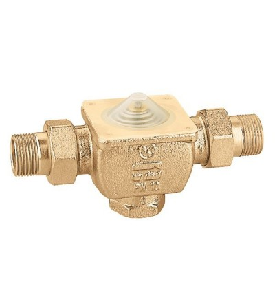 Three-way piston zone valve caleffi 633