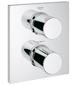 Grohtherm F Façade thermostatique avec inverseur 2 sorties 27618000