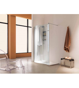 shower box Rounded corner open sway samo B4965