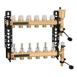 Pre-assembled manifold with...
