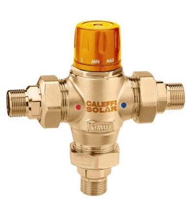 Miscelatore termostatico con cartuccia intercambiabile per impianti solari caleffi 2523